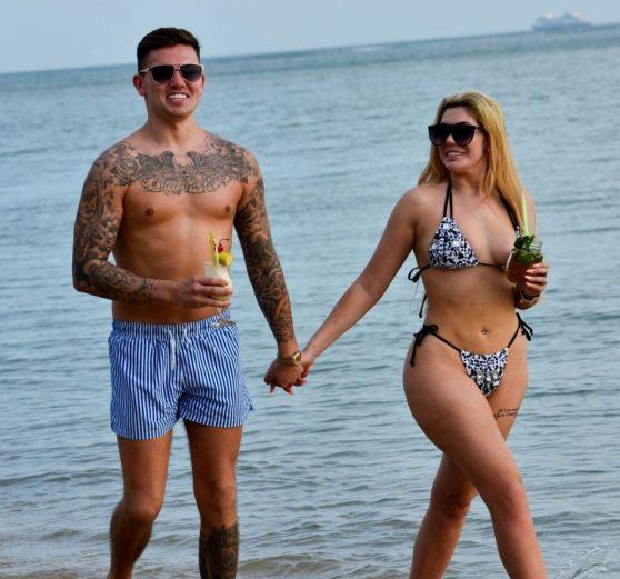 Elora Tahiti – Wearing Bikini at Gordon's Bay Beach in South Africa Pic 3 of 35