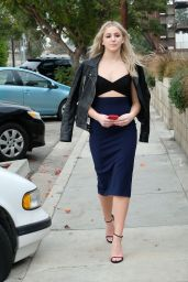 Chloe Lukasiak - Heading to Glamour to Promote Her Book in Los Angeles