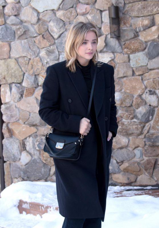 Chloe Moretz at the Sundance 2018 in Park City