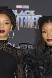 "Chloe X Halle – ""Black Panther"" Premiere in Hollywood"