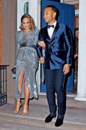 Chrissy Teigen and John Legend Head to the Grammy