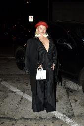 Christina Aguilera Arrives at Craig