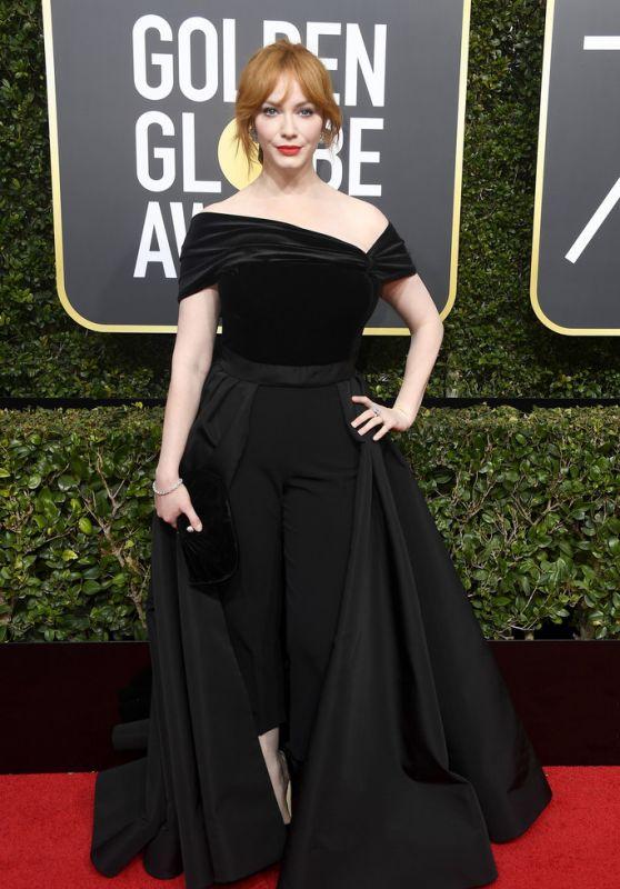 Christina Hendricks – Golden Globe Awards 2018