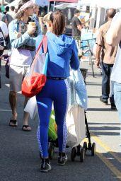 Christina Milian Shopping at Farmers Market in LA