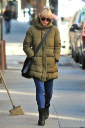 Christina Ricci Winter Street Style - New York City 01/26/2018