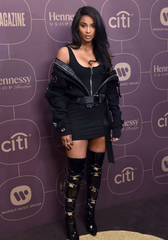 Ciara – Warner Music Pre-Grammy 2018 Party in New York