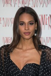 Cindy Bruna - 2018 Sidaction Gala Dinner in Paris