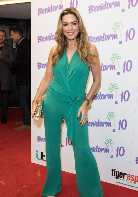 Claire Sweeney - Benidorm Is 10 Special Screening in London