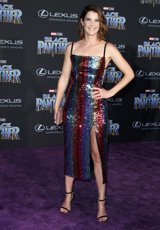 "Cobie Smulders – ""Black Panther"" Premiere in Hollywood"