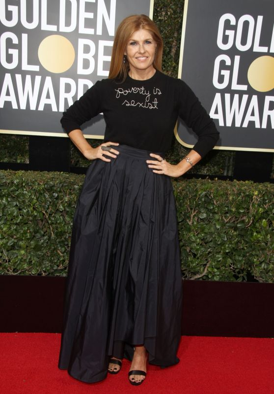 Connie Britton – Golden Globe Awards 2018