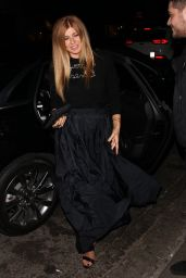 Connie Britton Night Out at Poppy Club in West Hollywood