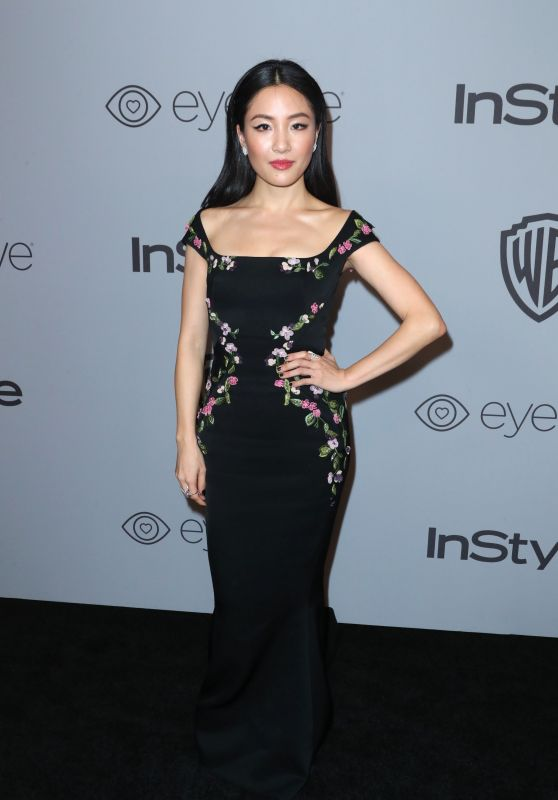 Constance Wu – InStyle and Warner Bros Golden Globes 2018 After Party