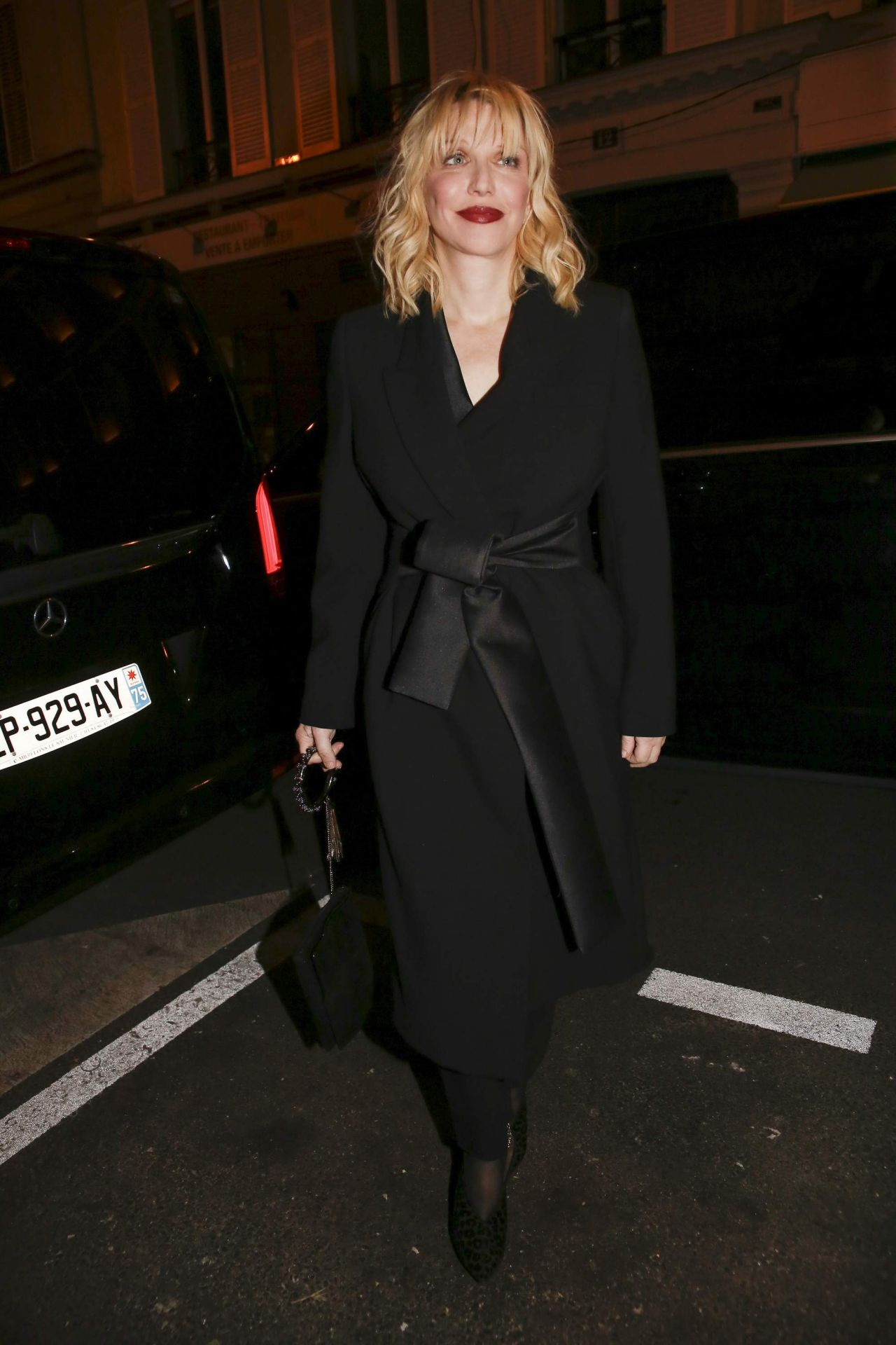 Courtney Love At Yves Saint Laurent Night