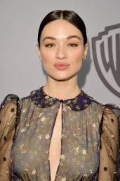 Crystal Reed – InStyle and Warner Bros Golden Globes 2018 After Party