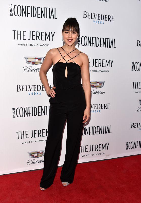 "Cyrina Fiallo - Los Angeles Confidential Celebrates ""Awards Issue"""