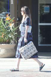 Dakota Johnson at the Pavillions Mall in Malibu