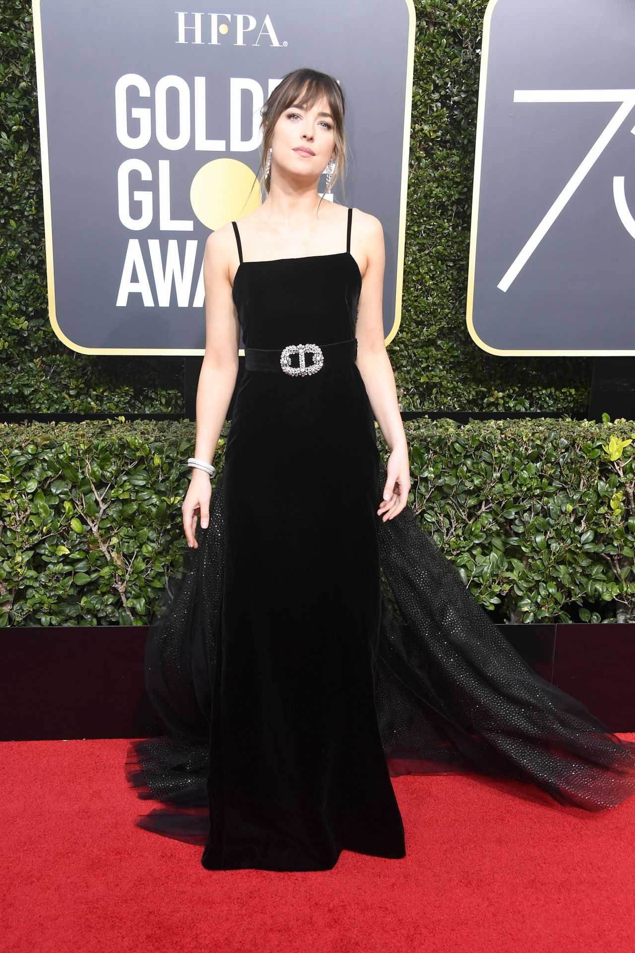 Dakota johnson golden globe awards 2018 - Golden globes red carpet ...