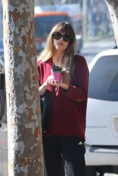 Dakota Johnson Out in West Hollywood 01/12/2018