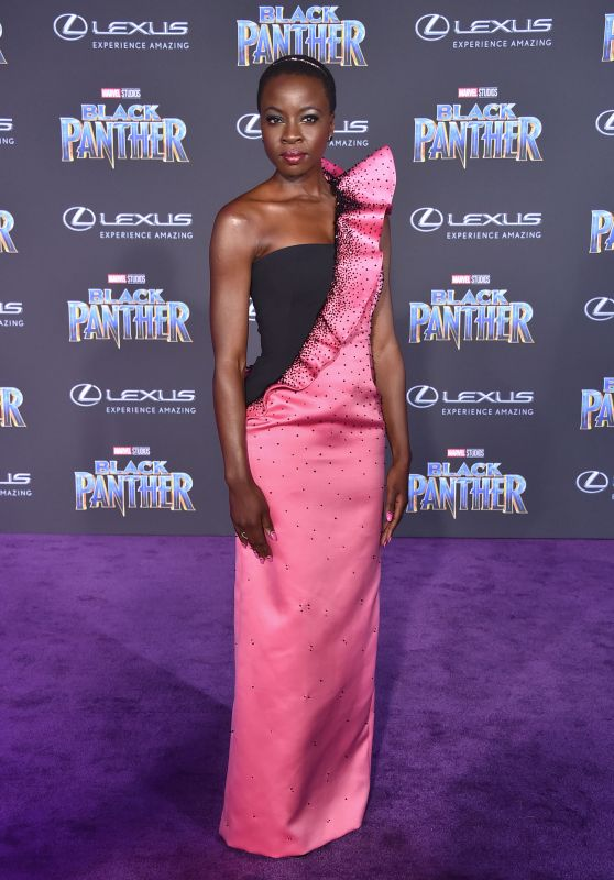 "Danai Gurira – ""Black Panther"" Premiere in Hollywood"