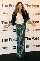 "Daniela Santanchè – ""The Post"" Red Carpet in Milan"