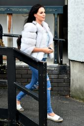 Danielle Lloyd at The ITV Studio in London