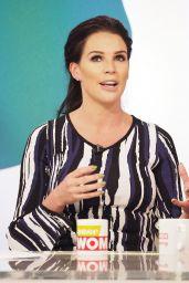 Danielle Lloyd - Loose Women TV Show in London
