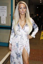Danielle Mason - Celebrity Boxfresh Charity Boxing Match in London