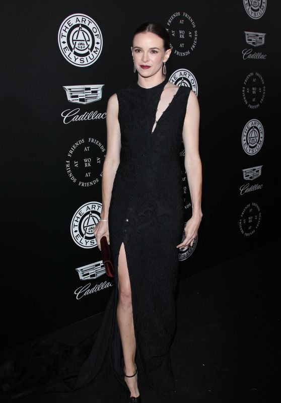 "Danielle Panabaker – The Art of Elysium Black Tie Artistic Eperience ""Heaven"" in Santa Monica"