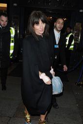 Davina McCall at Cafe de Paris in London