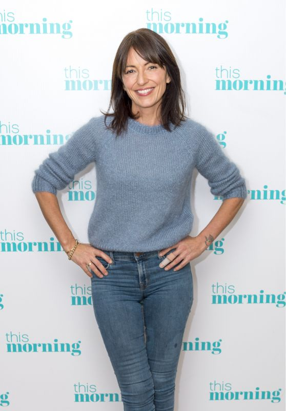 Davina McCall - This Morning TV Show in London