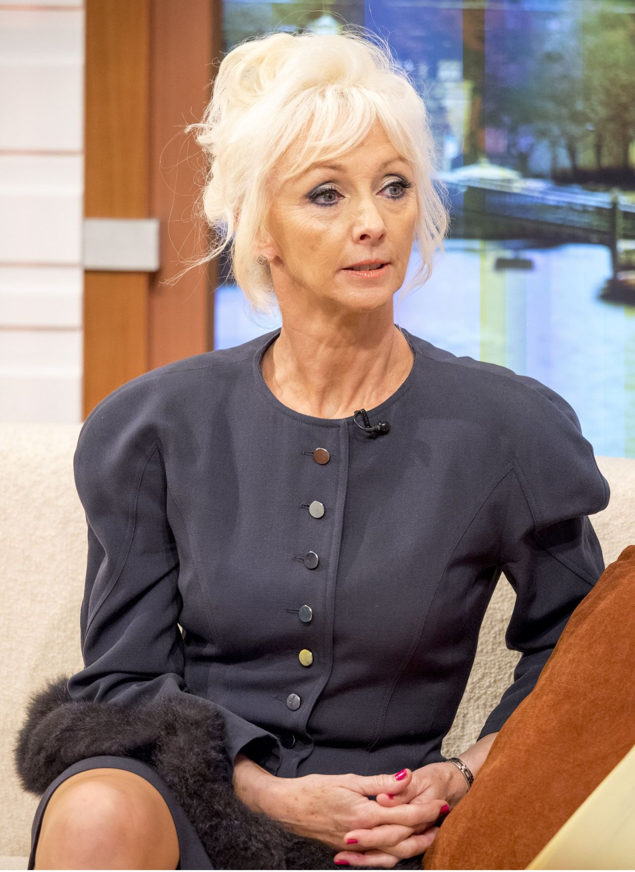 Debbie Mcgee Appeared On Good Morning Britain Tv Show In
