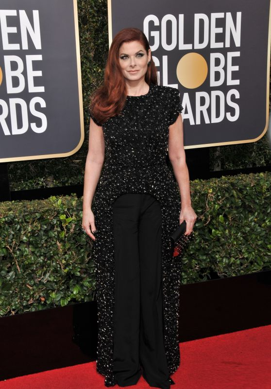 Debra Messing – Golden Globe Awards 2018