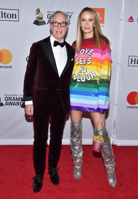 Dee Hilfiger – Clive Davis and Recording Academy Pre-Grammy Gala in NYC