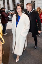 Demi Lovato Leaves Good Morning America Show in NYC 01/24/2018