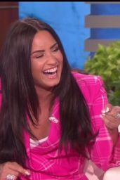 Demi Lovato -The Ellen DeGeneres Show in Los Angeles