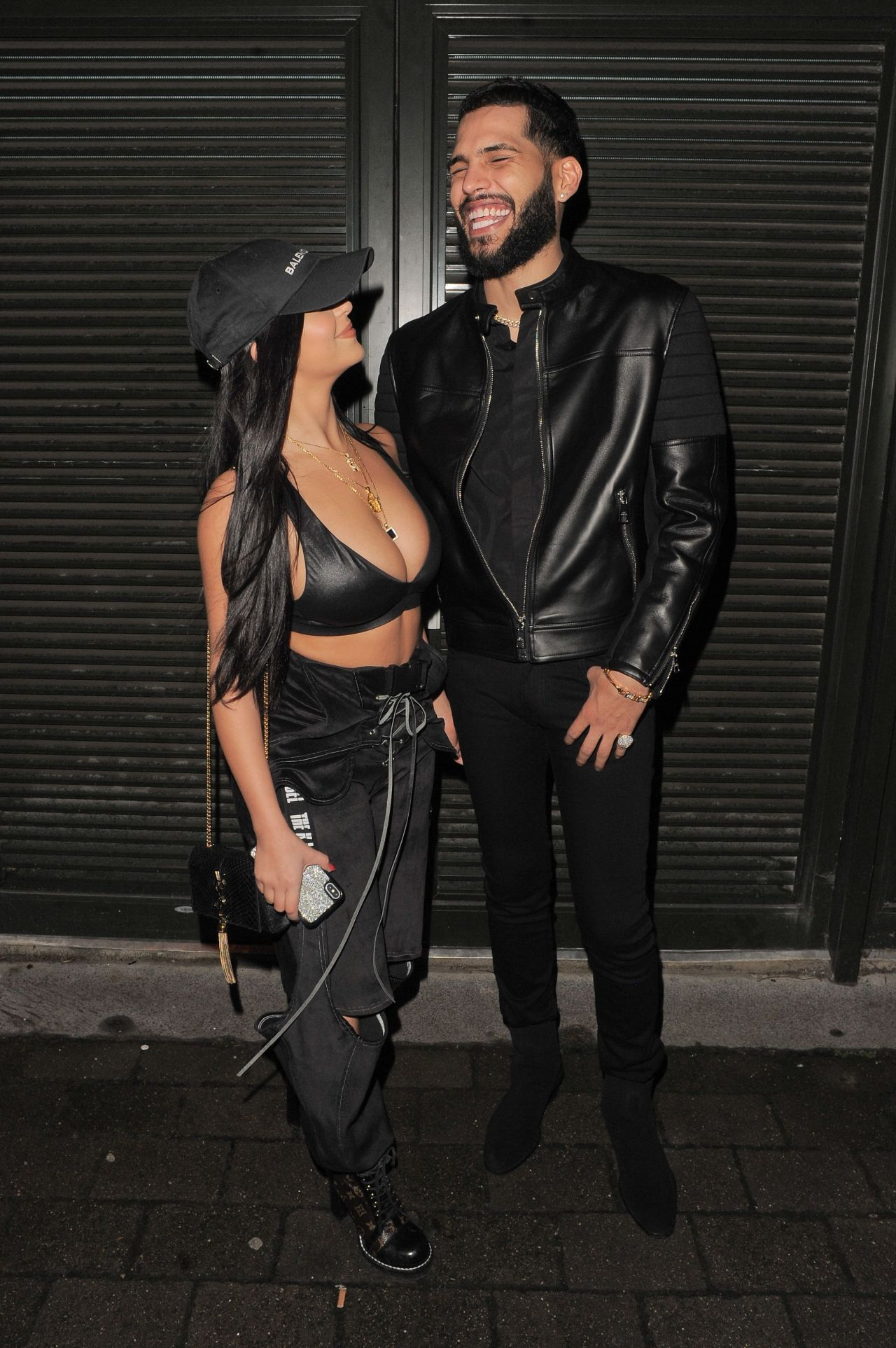 Demi Rose And Dj Chris Martinez At Fabric Club In London