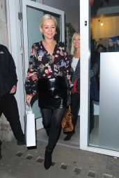 Denise Van Outen - Arriving at Hello Love Robinsons Event in London