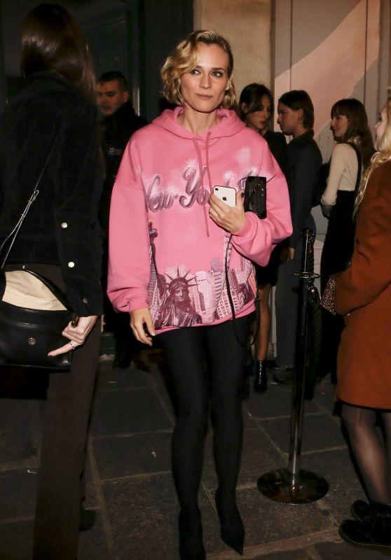 Diane Kruger at Yves Saint Laurent Night - Paris Fashion Week 01/17/2018