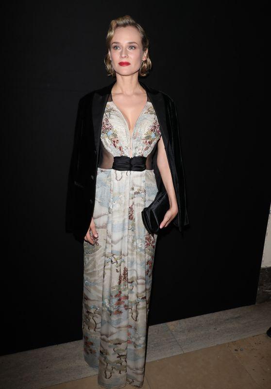 Diane Kruger – Giorgio Armani Prive Show Spring Summer 2018 in Paris