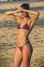 Doutzen Kroes and Candice Swanepoel at Beach in Bahia