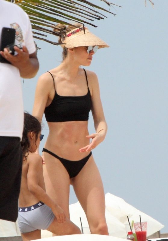 Doutzen Kroes - Beach in Bahia in Brazil