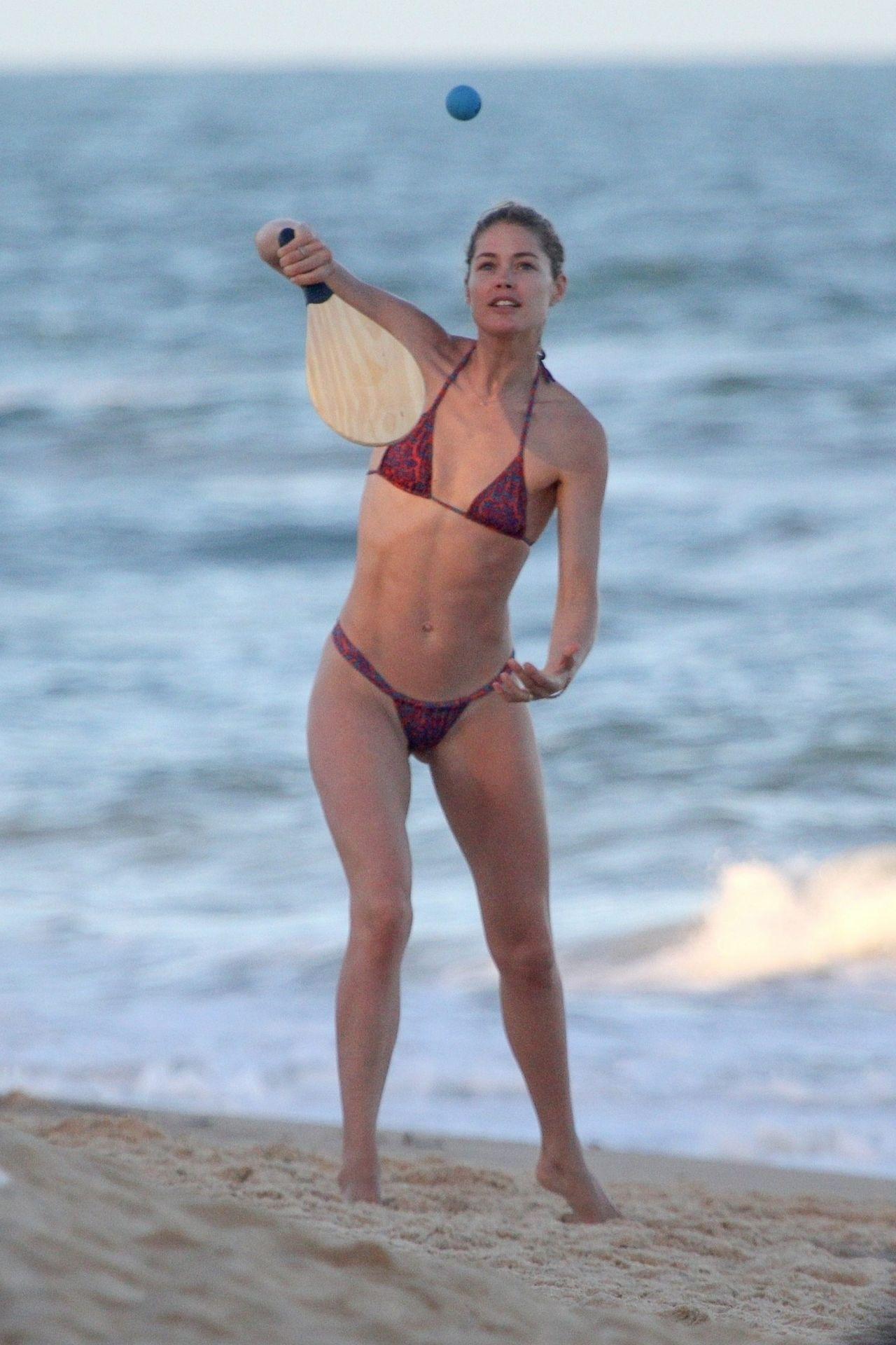 Doutzen Kroes In Bikini Bahia Beach In Brazil