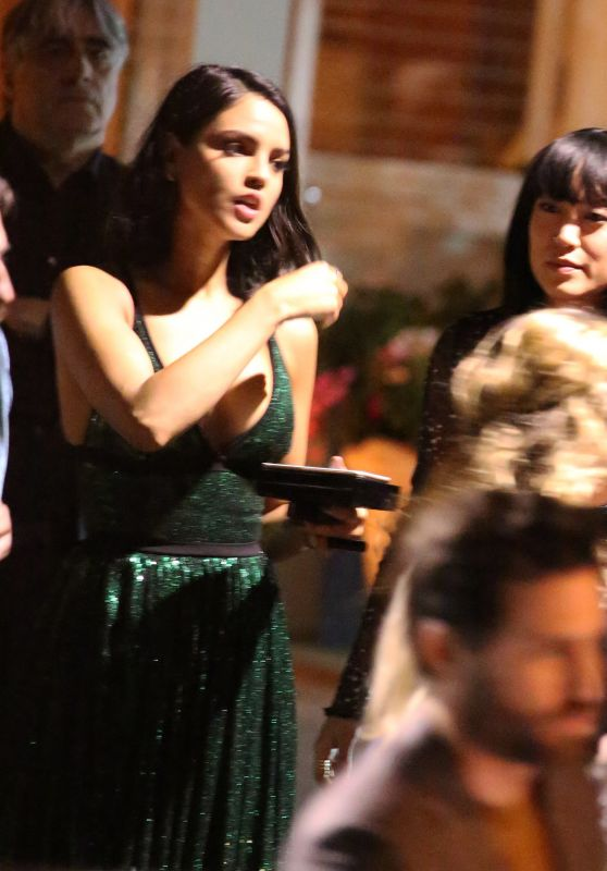 Eiza Gonzalez - Exits the Esquire and the Medavoys Party in Beverly Hills