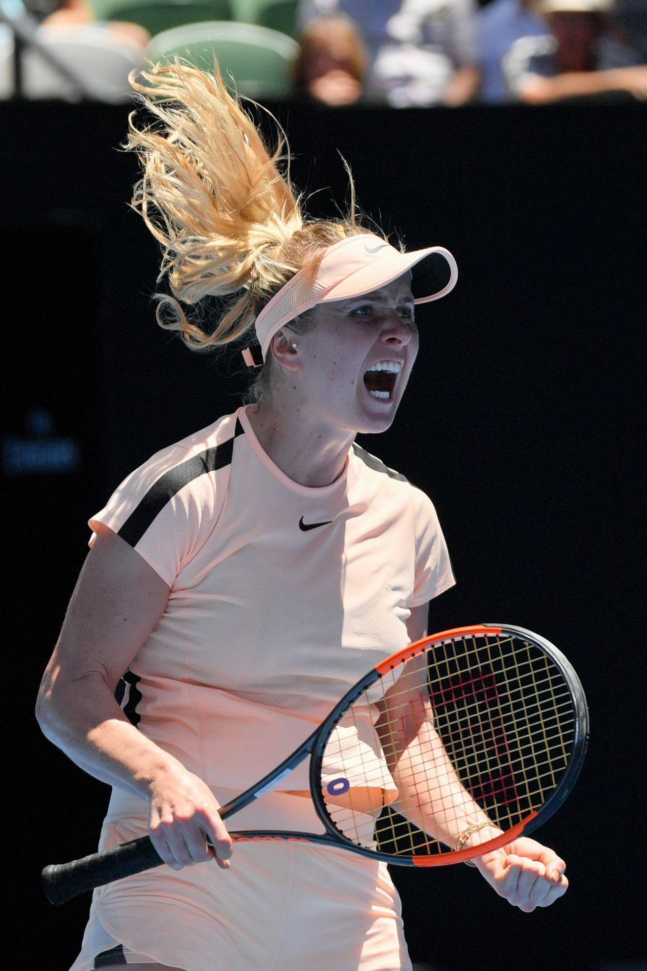 Elina Svitolina Australian Open 01 17 2018