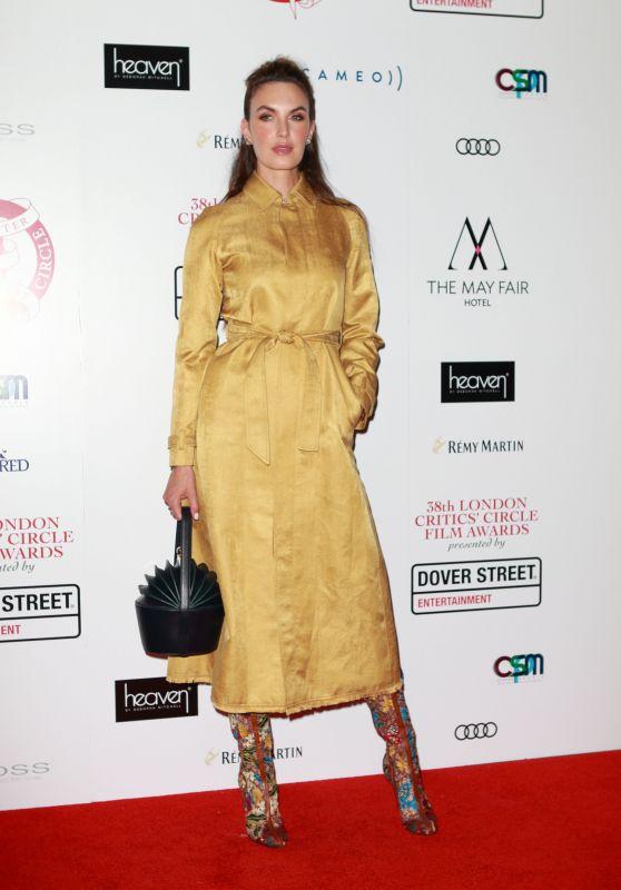 Elizabeth Chambers - 2018 Critics Circle Film Awards in London