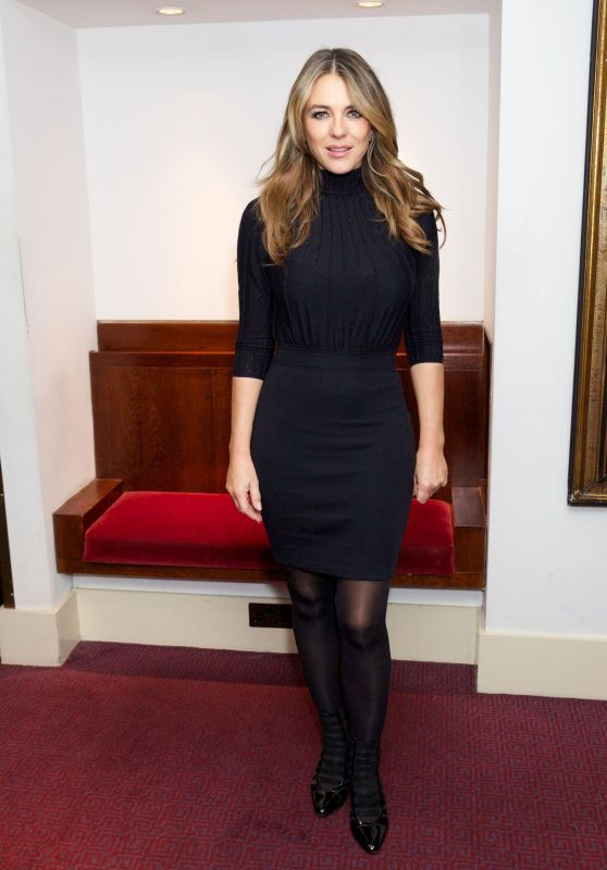Elizabeth Hurley – Song of the Earth Ballet Opening Night in London