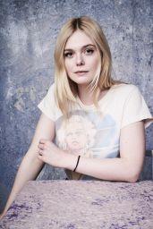 Elle Fanning - Deadline Studio Portraits at Sundance 2018