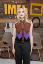 Elle Fanning - The IMDb Studio At The 2018 Sundance Film Festival in Park City