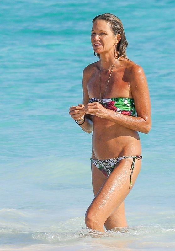 Elle Macpherson in Bikini - New Year