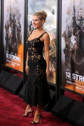 """Elsa Pataky – """"12 Strong"""" Premiere in New York"""